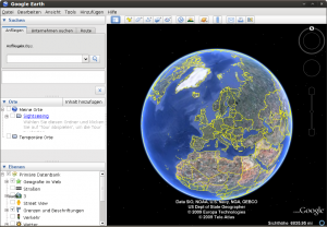 Google Earth unter Linux