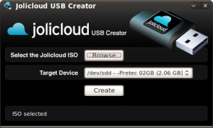 Der Jolicloud-USB-Installer