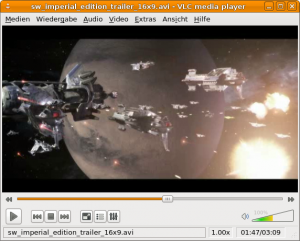 VLC Media Player 1.0.2 unter Ubuntu 9.04