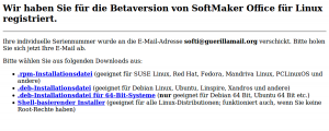 Download von Softmaker Office 2010 RC für Linux
