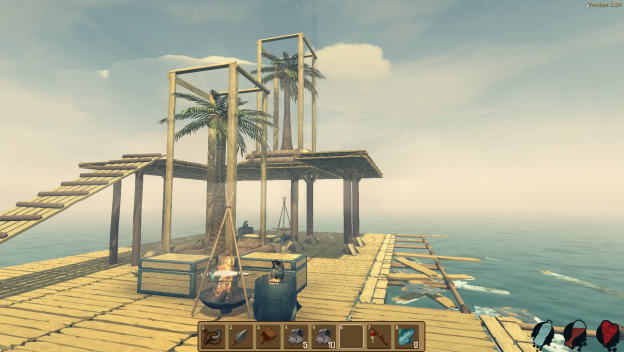 Crafting im Survival-Game Raft