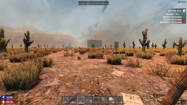 7 Days To Die Alpha 16 - Distant Terrain