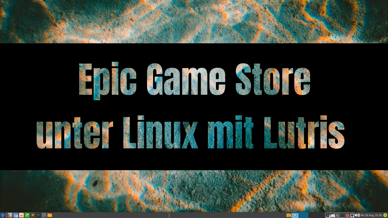 Epic Game Store unter Linux